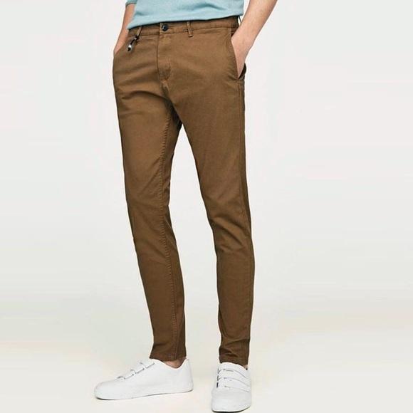 ed20e520 Zara Pants   Nwt Man Basic Skinny Chinos   Poshmark